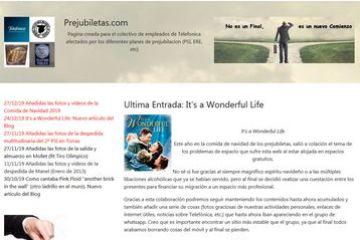 Enero 2020 - Nace la nueva web Prejubiletas.com
