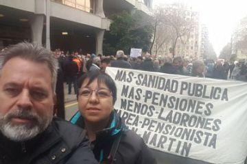 Marzo 2018 - Manifestacion por las pensiones