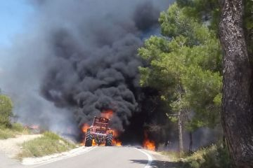 Junio 2019 - Incendio Forestal